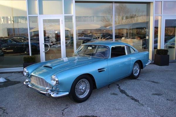 "DB4 Series IV Original LHD ""Special Series"""